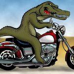 RANT biker Croc