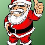Santa thumbsUp